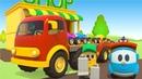 Lifty shop e le macchinine colorate - cartoni animati per bambini