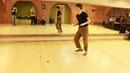 Шим-шам. вариант с большим использованием танцевального пространства