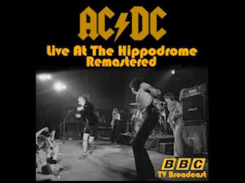 AC/DC Live At The Hippodrome 1977 Remastered (Full album)