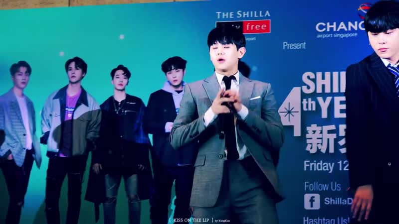 [PERF] 12.10.18 Shilla Duty Free 4th year Thank you with Highlight Fan meeting in SG - CELEBRATE (YoSeob ver.)