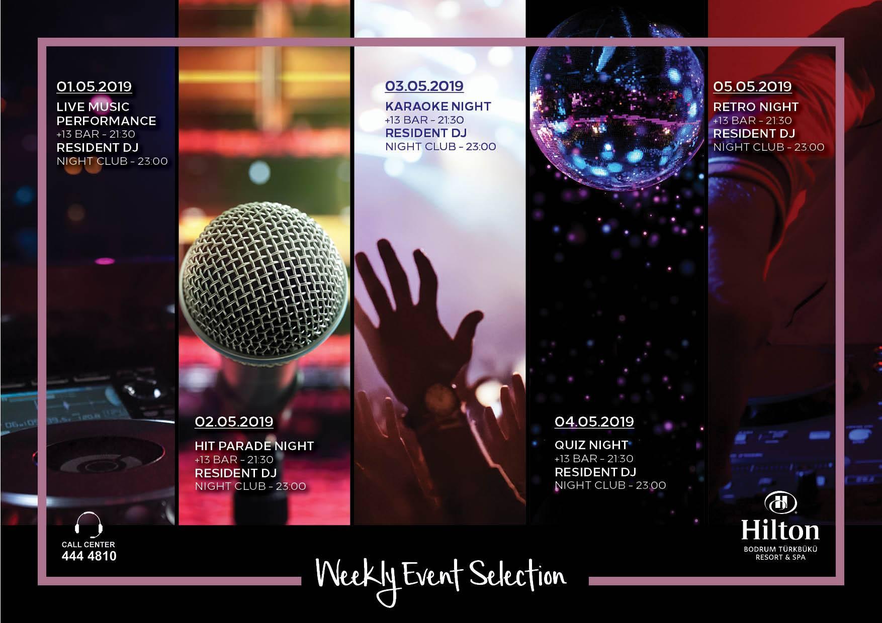 Летние развлекательные программы в отеле Hilton Bodrum Turkbuku Resort & Spa
