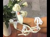 Белые туфельки TANGUERA