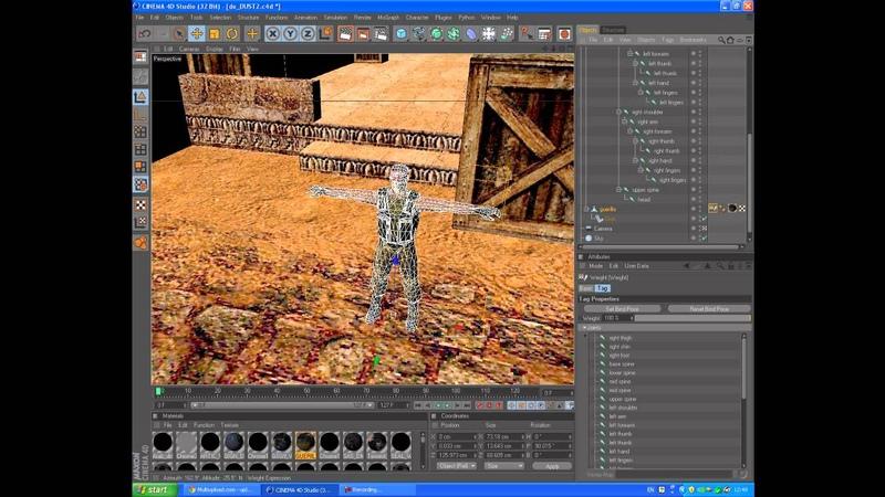 TUTORIAL Cs 1 6 3D modeling in Cinema4D