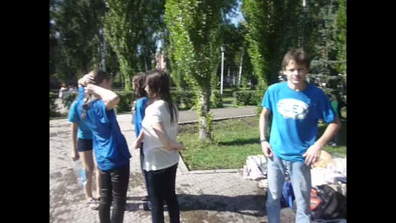 Нашла старое видео с мероприятия Водная битва)) 31.08.2011г.