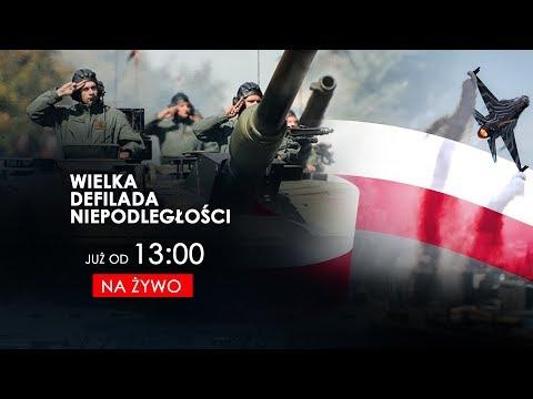 Wielka Defilada Niepodległości - Święto Wojska Polskiego [NA ŻYWO]