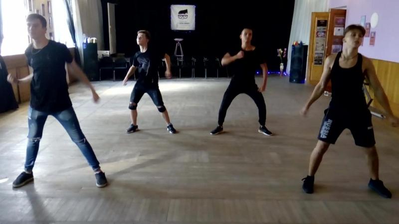 Hipster Dance Репетиция ко Дню города Шахты Loboda Парень