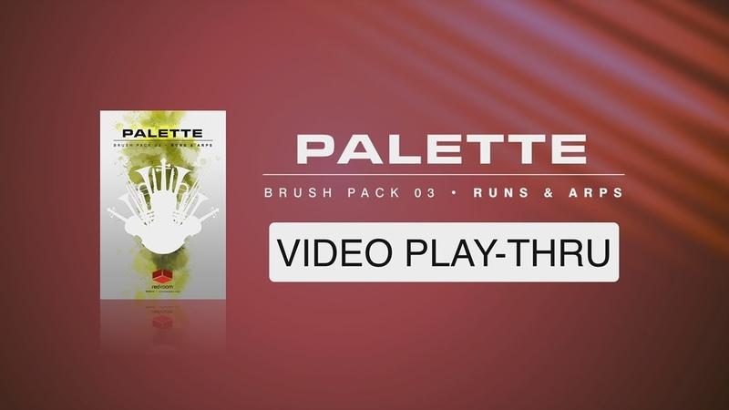 Red Room Audio Palette Runs And Arps V1 walk thru video
