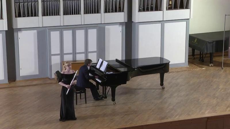 Глеб Май- Концерт «Версаль» I часть- Тимошина Ольга (флейта)