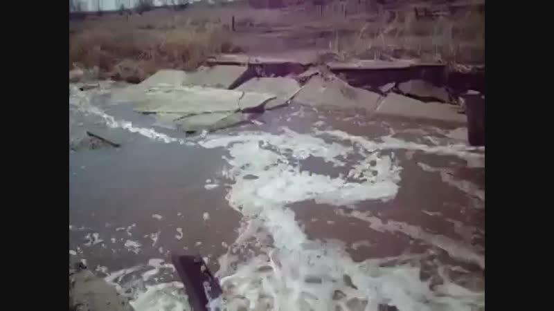После паводка. Село Волчиха Алтайский край