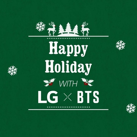 """LG Mobile Global on Instagram: """"Never miss the BTS moment! Capture all 7 members in one frame with the SuperWideAngle camera! LGXBTS"""""""