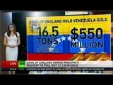 Bank of England Rejected Maduros Request to Withdraw Venezuelan Gold