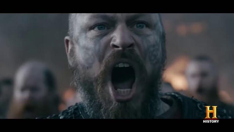 VIKINGS Mid Season 5 Trailer Comic Con 2018 YouTube