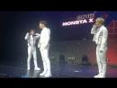 [VK][180805] MONSTA X fancam - Talk @ The 2nd World Tour: The Connect in Monterrey