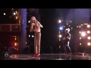 Courtney Hadwin Brings ROCKER STYLE To Tina Turner Song On AGT Finales