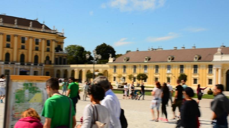 Šēnbrunnas pils. Wien, Austria.