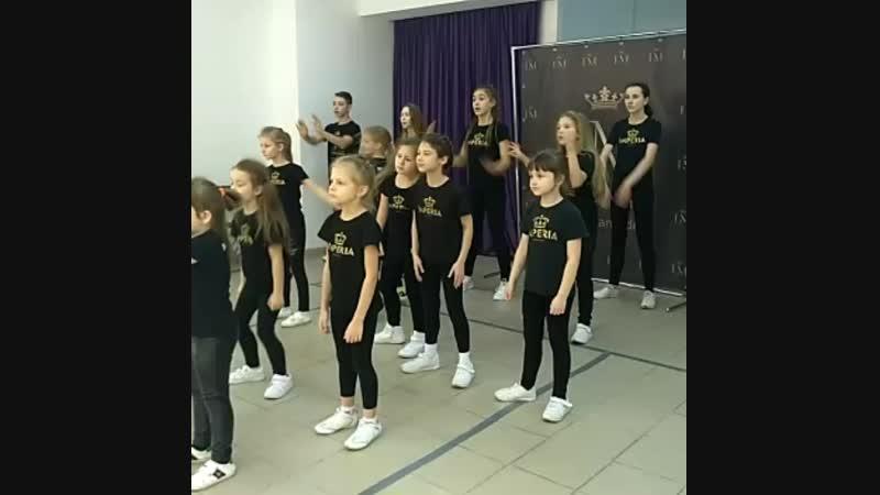 Урок хореографии в IMPERIA MODELS