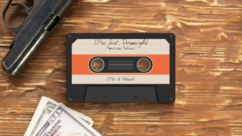 2Pac – American Violence (ft. Dramacydal) Veysigz Beats