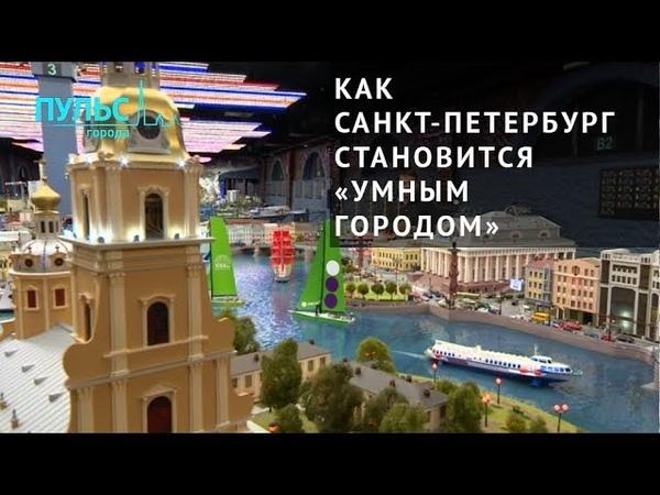 Петербург становится «Умным городом»