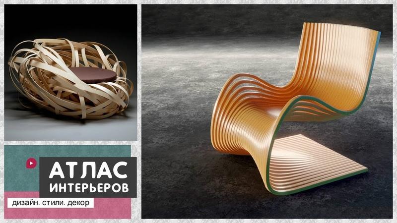 Самая необычная мебель из дерева. Дизайнерские идеи из массива, коряг, спилов
