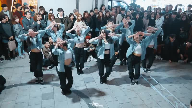 A.DOUBLE ¦ On My Own - Troyboi ¦ Vana Kim Choreography ¦ 에일리언 버스킹 ALiEN BUSKING Filmed by lEtudel