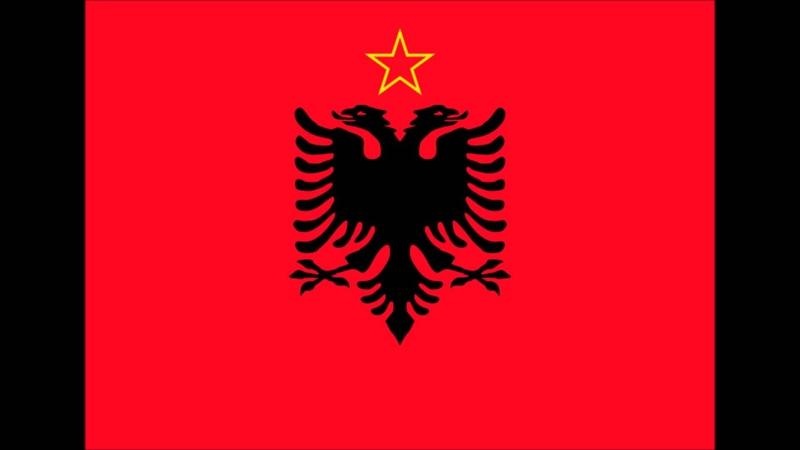 Albanian partisan revolutionary song MALET ME BLERIM MBULUAR