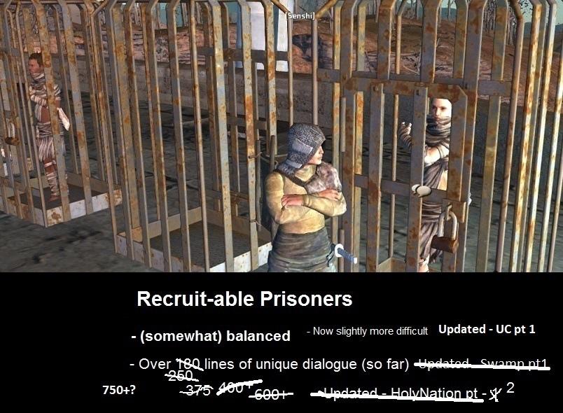 Recruitable Prisoners или как оно работает.