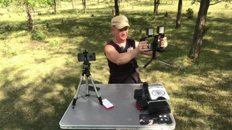 Крепление смартфона и планшета для видеосъёмки.