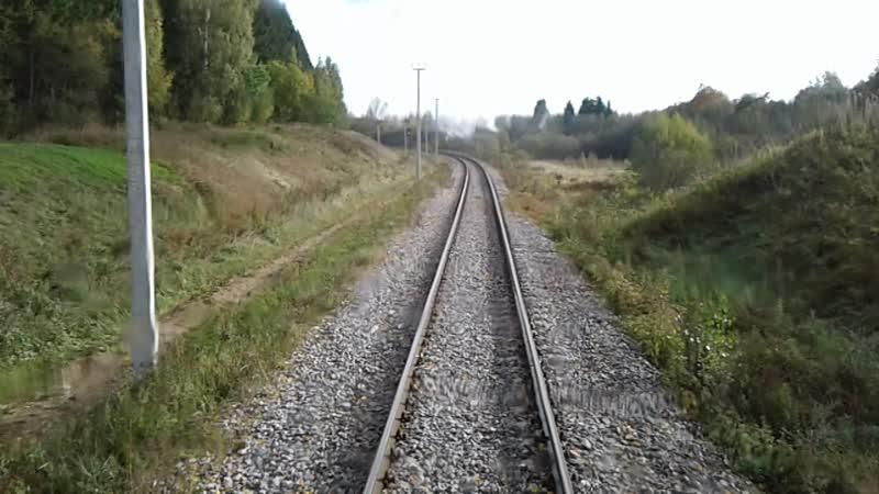 Бологое-Полоцкая железная дорога. Перегон Бологое-Полоцкое-Куженкино.