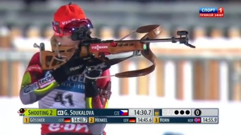 КМ по биатлону 2012/2013, 5-й этап, Рупольдинг, Германия. Женщины, спринт 7,5 км (11.01.2013)