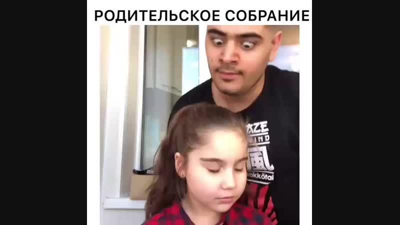 Девочка еле держится😂