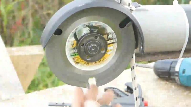 Тестирование диска по дереву для УШМ от канала Домашний мастер