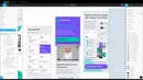 Mobile web prototyping in Figma • Design system with 18 templates