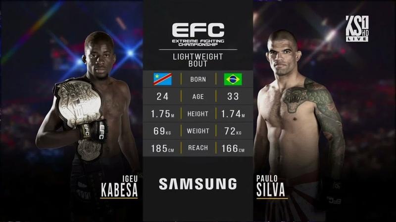 EFC 67 - Kabesa vs Silva