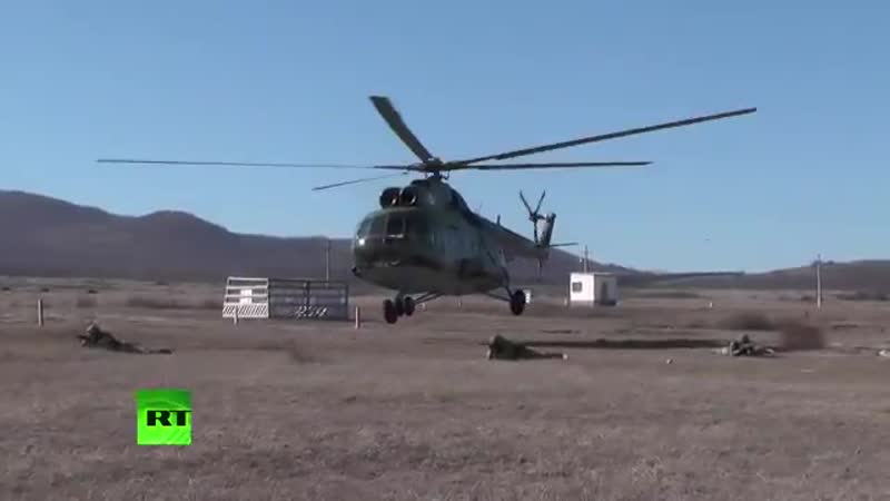 В Крыму разведчики провели учения по действиям за предполагаемой линией фронта