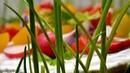 Зеленая полянка Закусочный торт