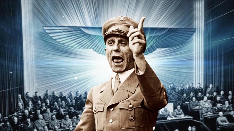 Речь Йозефа Геббельса о жидовской проблеме The speech of Joseph Goebbels about the Jewish problem