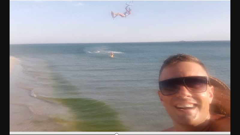 кусочек пляжа казантипа 2018