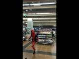 Танцующий ДедПул в Перми. ТРК Семья. 11.09.2018. ВИДЕО
