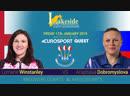 2019 BDO World Darts Championship Semi Final Winstanley vs Dobromyslova