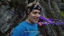 Slackliner Friedi Kühne (Red Fox team) set a new world record in Slackline