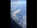 На Кипр. Из самолёта. Луна