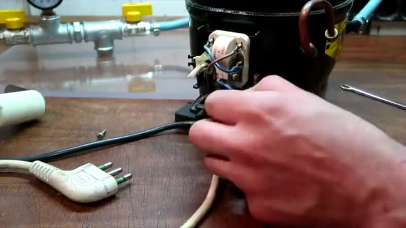 Вакуумный насос для стабилизации древесины (vk.com/kiku_matsuda)