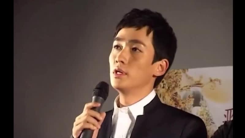 [Отрывок] Чжу Илун на пресс-конференции 《The Legend of Daming Palace》@ 25.09.10
