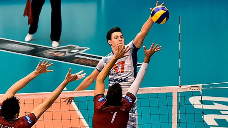 Kuzbass Kemerovo vs NOVA Highlights Russian Volleyball Super League