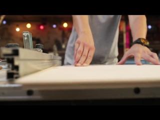 Складной столик своими руками. Laura Kampf