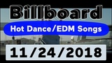 Billboard Top 50 Hot DanceElectronicEDM Songs (November 24, 2018)