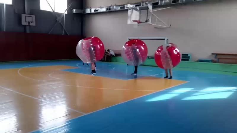 Дети дзюдоисты играют в бампербол ДЮСШ Тура Тюмень 05 06 2019
