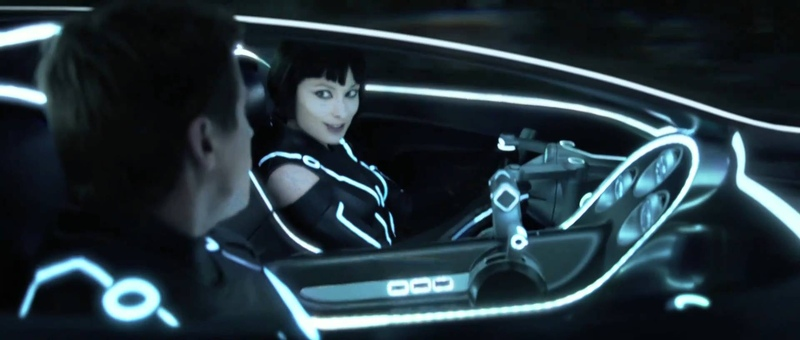 Tron Legacy Movie Clip - Quorra Saves Sam