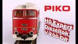 PIKO V067EN subtitle H0 Expert diesel locomotive V 200 DR - model presentation