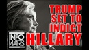 EXCLUSIVE Trump Set to Indict Hillary Clinton Other Deep Staters In Coming Months